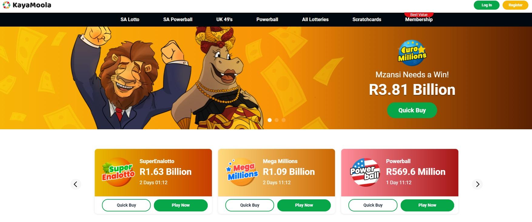 https://www.kayamoola.co.za/lotteries